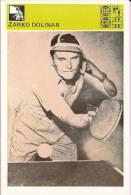 SPORT CARD No 129 - ŽARKO DOLINAR, 1981., Yugoslavia, 10 X 15 Cm - Bowling