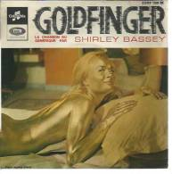 "45 Tours EP - Du Film "" GOLDFINGER "" ( SEAN CONNERY / HONOR BLACKMAN ) SHIRLEY BASSEY - Filmmusik"