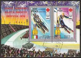 1972 Guinea Ecuatorial - Sapporo '72 Olympic Games - Ski - Winter 1972: Sapporo