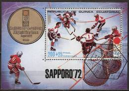 1972 Guinea Ecuatorial - Sapporo '72 Olympic Games - IJshockey, - Winter 1972: Sapporo