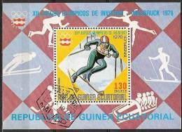 1976 Guinea Ecuatorial - Insbruck '76 Olympic Games - Ski - Winter 1976: Innsbruck