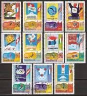 1976 Guinea Ecuatorial - Insbruck '76 Olympic Games -  Ice Skating, Ski, Bobslee - Winter 1976: Innsbruck