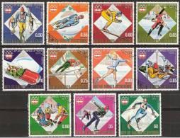 1976 Guinea Ecuatorial - Insbruck '76 Olympic Games -  Ice Skating, Ski, Bobslee, Ice Hockey, - Winter 1976: Innsbruck