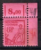 Mecklemburg-Vorpommern 1945, Michel# 11 ** - Zone Soviétique