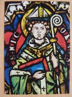 St  Nikolaus /Chorfenster Dom Zu Naumburg Um 1260 / Stained Glasses - Quadri, Vetrate E Statue