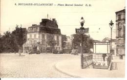 BOULOGNE BILLANCOURT,place Marcel SAMBAT - Boulogne Billancourt