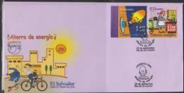 O) 2006 EL SALVADOR, UPAEP AMERICA, ENERGY SAVING, FDC MNH. - El Salvador