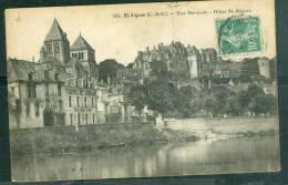 Saint Aignan - Vue Générale Hotel St Aignan  ( Trace De Plis )     - Bcf158 - Saint Aignan