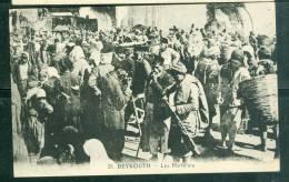 Beyrouth -  - Le Portefaix  -  Bcf168 - Lebanon