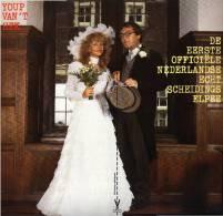 * LP *  YOUP VAN 'T HEK - DE EERSTE OFFICIËLE NEDERLANDSE ECHTSCHEIDINGSELPEE (Holland 1983 EX-!!!) - Humor, Cabaret