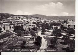 Catanzaro - Soverato L' Istituto Salesiano Dal Palazzo Della Coperativa - Formato Grande - Viaggiata 1955 - Catanzaro