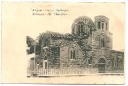 GREECE GRECE ATHENS ATHENES ST. THEODORE CHURCH A.B.Pascas - Grèce