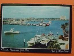 E1-etats -unis-florida-the Marina And Yacht Bassin Et Clearwater Beach-- - Clearwater