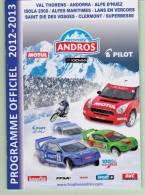 Programme Officiel Du Trophée Andros 2012-2013 - Boeken