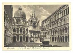 Cp, Italie, Venise, Interno Del Palazzo Ducale - Venezia