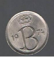 BELGIUM - BELGICA -  25 Centimes 1974  KM153 - 1951-1993: Baudouin I