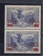 Lebanon1938-42: Yvert162(Scott150)mnh** Pair - Great Lebanon (1924-1945)