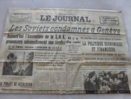Journal L´Echo D´Alençon  Jeudi  14 Decembre 1939 - Riviste & Giornali