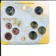 Coffret Serie Fleurs De Coin Euro 2007 Italie  Sous Blister - Italia