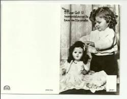 Petite Fille Et Sa Poupée  Veel Vreudge Met Je Verjaardag - Kinderen