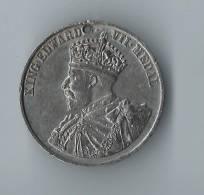 Grande Bretagne/King Edward VII Medal / London County Council/Punctual Attendance/1909-10      D197 - Grande-Bretagne