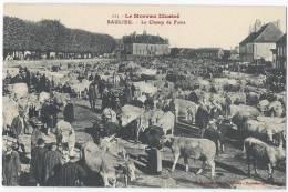 SAULIEU - Le Champ De Foire - Animée - Saulieu