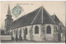 MEZIERES EN DRONAIS - L'église - France