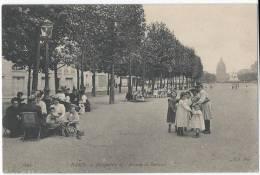 PARIS - Perspective De L'Avenue De Breteuil - Vue Très Animée - Arrondissement: 07