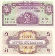 Gr. Britain P M36a, 1 Pound, 1962 4th Series!! - Military Issues