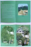 NIMES (30/Gard) - Jardins De La Fontaine / Arbres - Statues - Document Philatélique Avec 2 Timbres Et Cachet 1er Jour - Végétaux