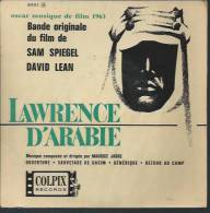 "45 Tours EP - Du Film "" LAWRENCE D'ARABIE "" ( PETER O'TOOLE / ANTHONY QUINN / OMAR SHARIF ) - Filmmusik"