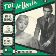 "45 Tours EP - Du Film "" TOI LE VENIN "" ( MARINA VLADY / ROBERT HOSSEIN / ODILE VERSOIS) - Filmmusik"
