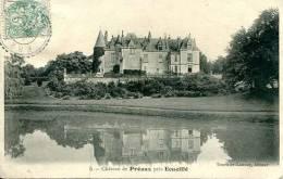 N°29313 -cpa Château De Préaux Près Ecueillé- - Altri Comuni
