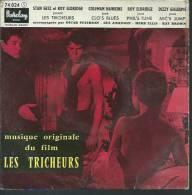 """45 Tours EP - Du Film """" LES TRICHEURS """" ( LAURENT TERZIEFF / JACQUES CHARRIER / PASCALE PETIT ) - Soundtracks, Film Music"""