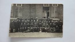 13G - Photo Carte 2ème Chasseur Camp De Charleroi Photo Cuylits Marchienne Au Pont - Casernes