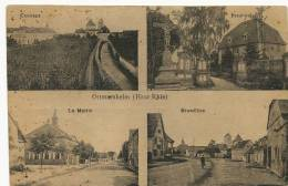 Ottmarsheim Multi Vues Grand Rue , Presbytere, Mairie  Edit Kuntz Guebviller - Ottmarsheim