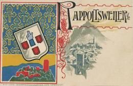 Rappoltsweiler Art Nouveau Blason Edit Wappenpostkarten Ribeauvillé - Ribeauvillé