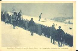 VILLARD -de-LANS -Sports D'hiver - Le Tremplin Des Cochettes - Un Saut En Ski , Bon état ( Voir Scan ) - Villard-de-Lans