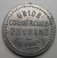 Peyriac 11 Union Commerciale 5 Centimes PAS SI COURANT - Monetari / Di Necessità