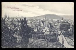 AK 11860 Limburg An Der Lahn - Westl.Stadtteil Vom Greifenberg Gesehen Gel.1914 FP - Limburg