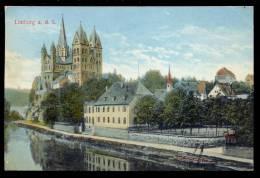 AK 11861 Limburg An Der Lahn - Lahnpartie Mit Dom Gel.1910 - Limburg