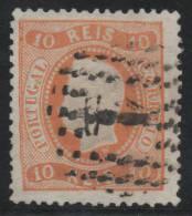 PORTUGAL 1867/70 - Yvert #27 - VFU - 1862-1884 : D.Luiz I