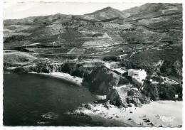 66 ARGELES Sur MER ++ La Plage Du Racou - Vue Aérienne ++ - Argeles Sur Mer