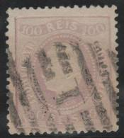PORTUGAL 1867/70 - Yvert #32 - VFU - 1862-1884 : D.Luiz I
