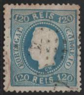 PORTUGAL 1867/70 - Yvert #33 - VFU - Usado