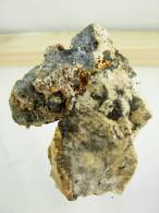 GALENE SUR GANGUE 7 X 5 Cm VALLAURY - Minerals