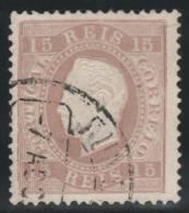PORTUGAL 1870/80 - Yvert #38b - VFU - Usado