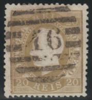 PORTUGAL 1870/80 - Yvert #39a - VFU - Usado