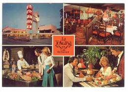 E2276 Haiger - Mobel Franz - Cafè Restaurant La Toscana - Auto Cars Voitures / Non Viaggiata - Germania