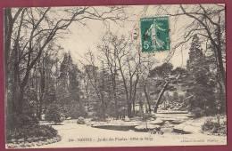44 - 130313 - NANTES - Jardin Des Plantes - Effet De Neige - - Nantes